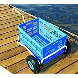 Cart-It Folding Utility Cart Collapsible Dock Wagon Dolly Foldable Marine Boat Beach