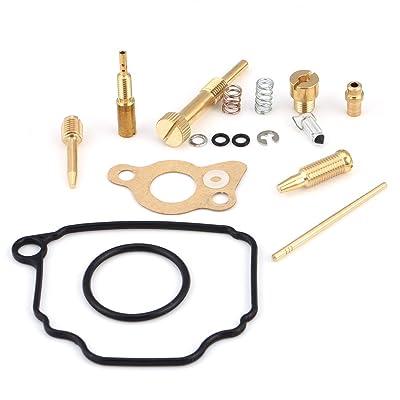 18Pcs Motorcycle Carburetor Kit Carburetor Rebuild Kit Carb Repair Tool with Yamaha TTR-90 TT-R90E 2000-2005: Automotive