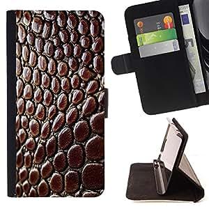 Jordan Colourful Shop -Crocodile -- Leather Case Absorciš®n cubierta de la caja de alto impacto FOR Apple iPhone 6 6S 4.7 ---