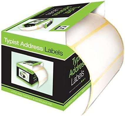 200 Self Adhesive Sticky White Address Postage Shipping Labels 90mm x 35mm