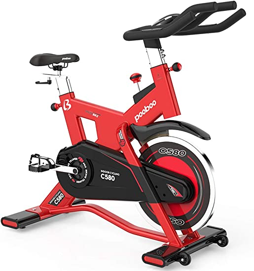 L NOW Indoor Cycling Bike Exercise Bike Stationary Commercial Standard