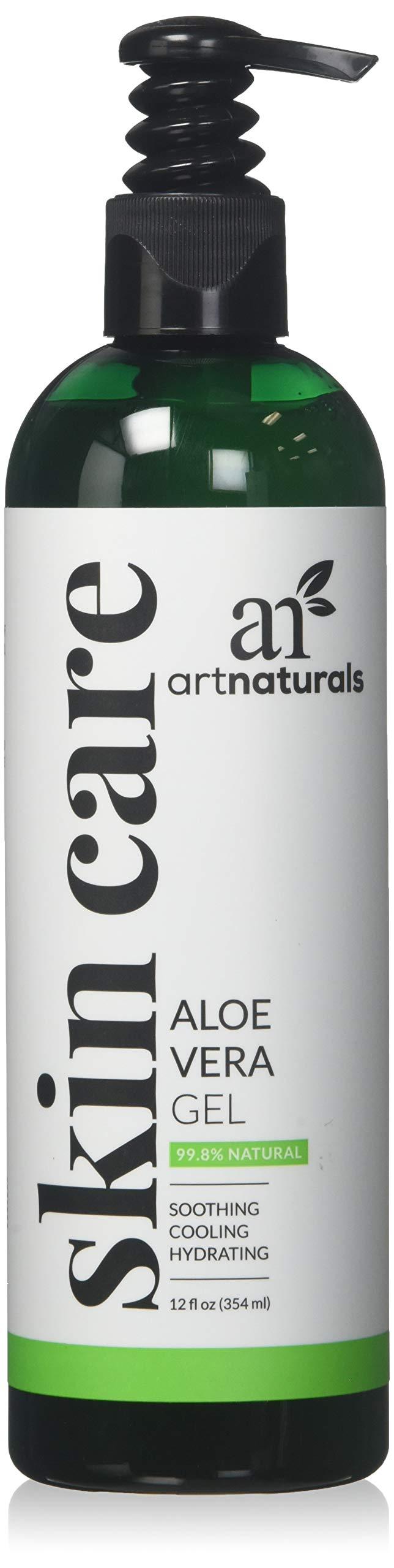 ArtNaturals Aloe Vera Gel, 12 Fluid Ounce by ArtNaturals