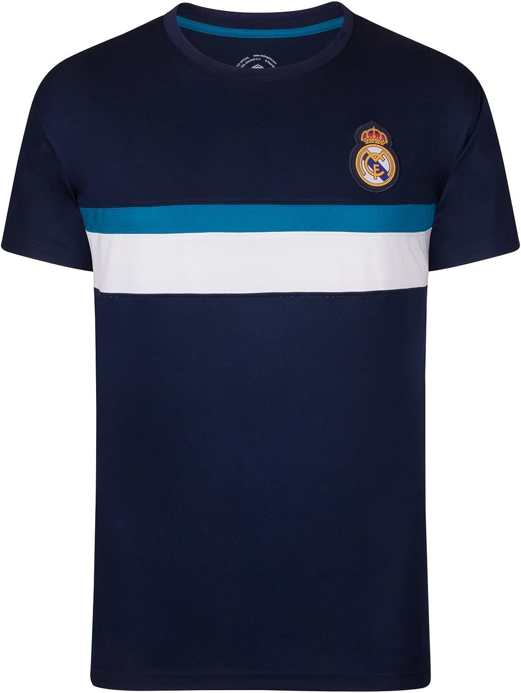 Real Madrid - Camiseta Oficial para Entrenamiento - para Hombre - Poliéster