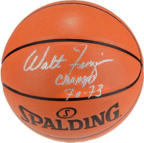 Walt Frazier Autographed Basketball - 5