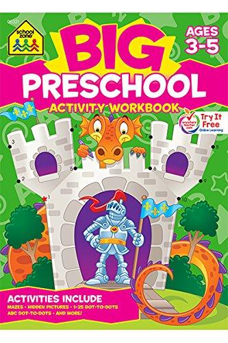 Big Preschool Activity Workbook Ages 4 & Up: Multiple Authors ...