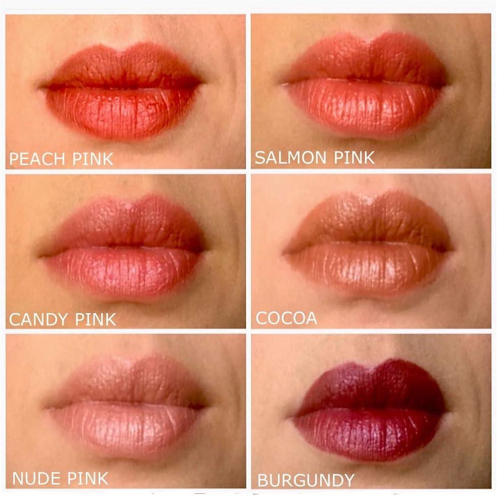 Tintas para labios, mejillas y ojos (borgoña): Amazon.es: Belleza