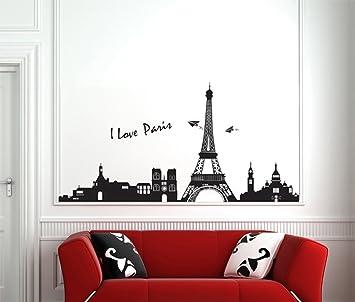 ufengke® Famosa Serie Paesaggio Urbano Torre Eiffel a Parigi ...