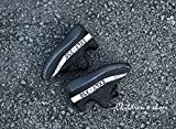 Angels Club Boys Girls Casual Fashion Sneakers Breathable Athletic Sports Shoes(Toddler/Little Kid/Big Kid) (1 M US Little Kid/20cm, Black & White)