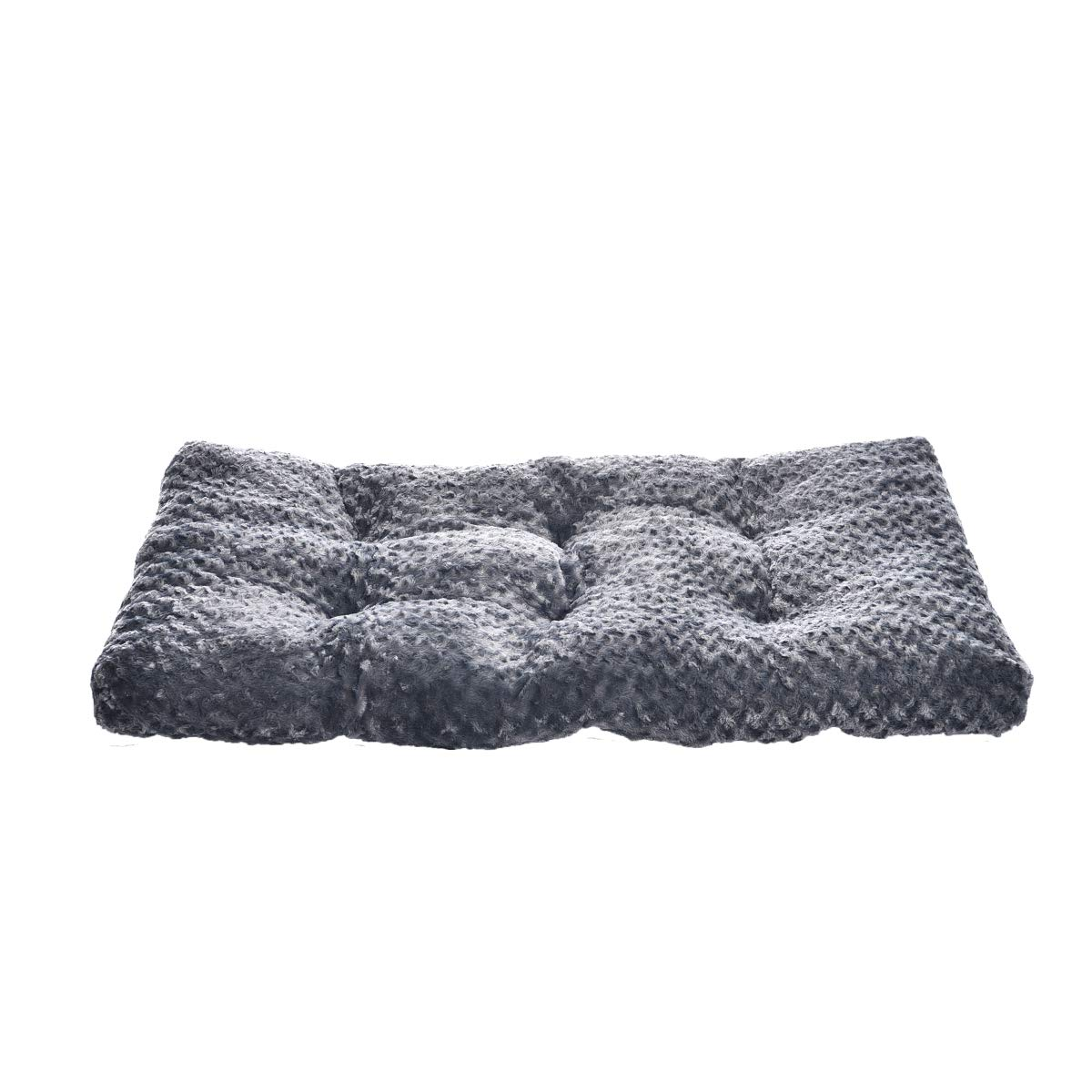 AmazonBasics Pet Dog Bed Pad - 40 x 27 x 3.5 Inch, Grey Swirl by AmazonBasics