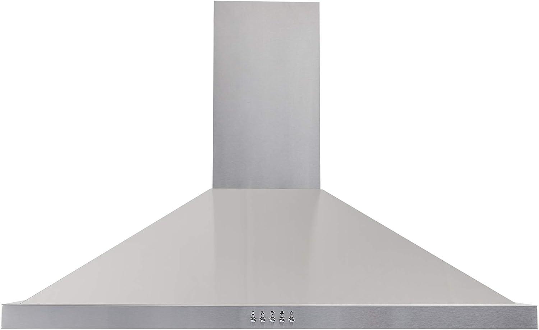 respekta CH44068-90IXA - Campana para chimenea (acero inoxidable, 90 cm, eficiencia energética: A): Amazon.es: Grandes electrodomésticos