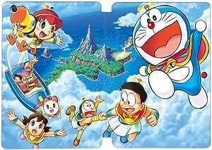 Funda ipad Mini 4, caso Funda cuero de la PU del soporte del folio con la moda lindo Doraemon patrón Amor 6