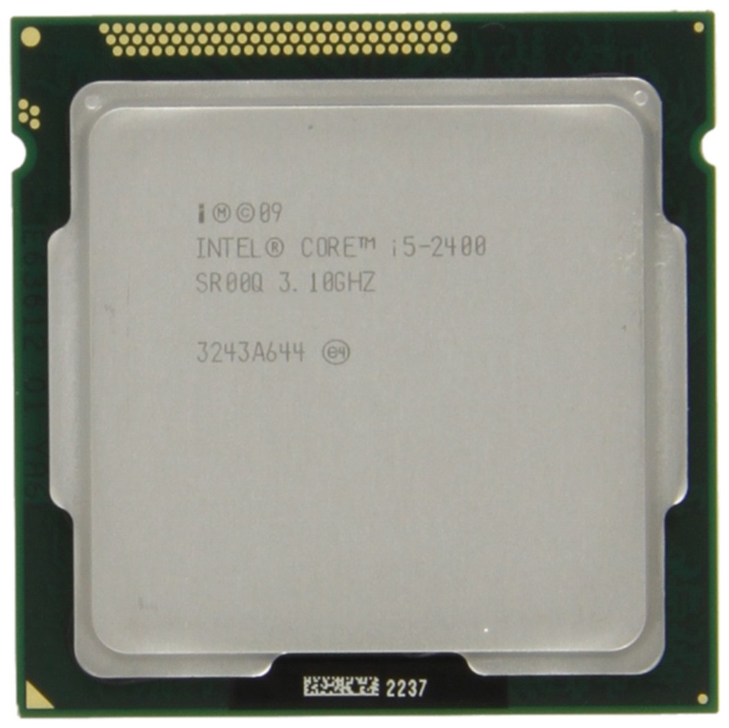 Amazon.com: Intel Core i5-2400 Quad-Core Processor 3.1 GHz 6 MB Cache LGA  1155 - BX80623I52400: Electronics