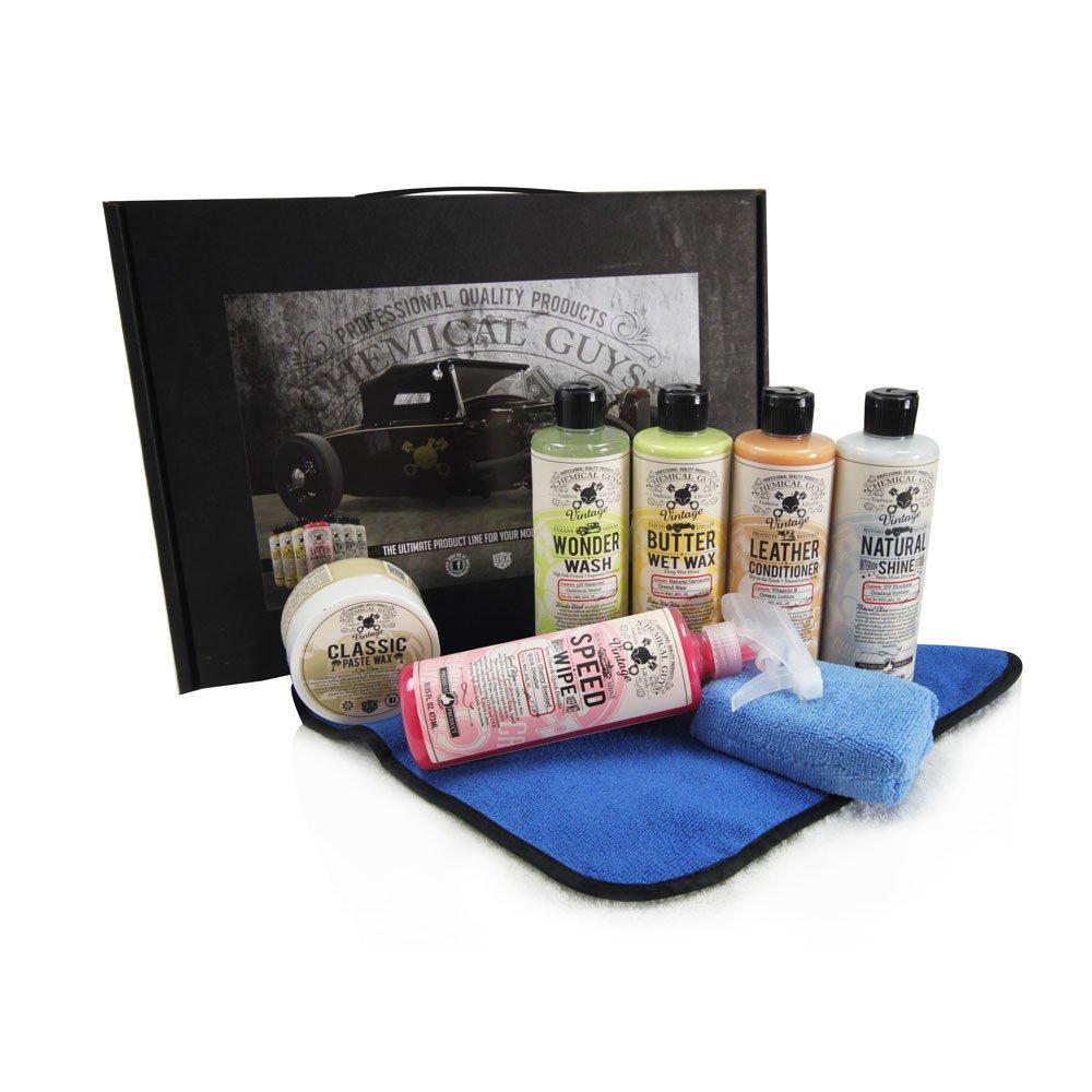 Amazon com chemical guys hol_115 vintage line car care kit 8 items automotive