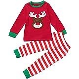 e590002a3 Fossen Disfraz Navidad Niño Pijama Conjunto de Ropa Fossen 2-7 años Niños  Niñas Patrón