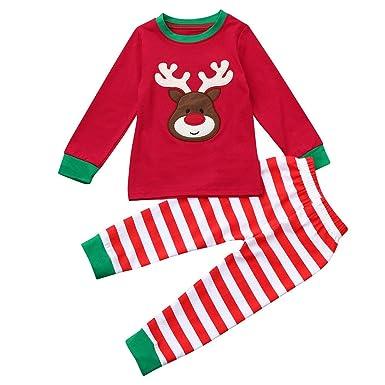 a12b4a39b4 Fossen Disfraz Navidad Niño Pijama Conjunto de Ropa Fossen 2-7 años Niños  Niñas Patrón. Pasa el ratón por encima de la imagen para ampliarla
