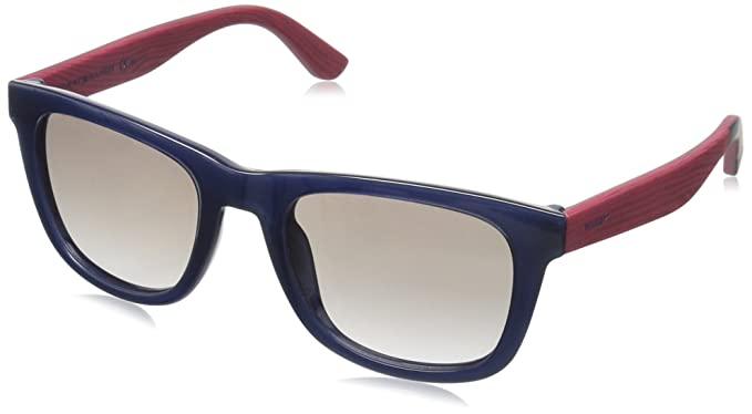 Tommy Hilfiger TH 1313/S Eux2D Gafas de sol, Bluee Redwood ...