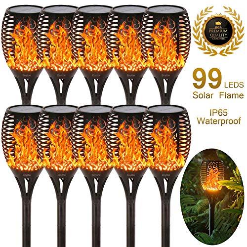EOYIZW Solar Flame Light Outdoor Dancing Flickering Torch