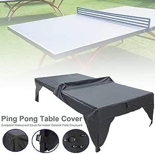 pologyase Funda Protectora para Mesa De Ping-Pong, Cubierta ...