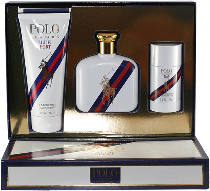 Ralph Lauren - Estuche de regalo Eau de Toilette Polo Blue Sport ...