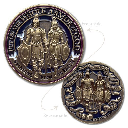 Armor of God Premier Challenge Coin