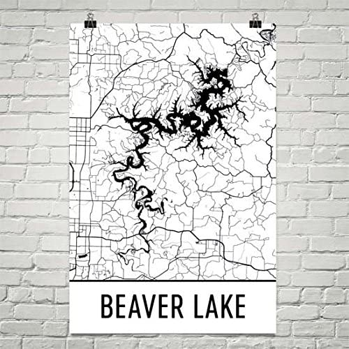 beaver lake arkansas map Amazon Com Beaver Lake Arkansas Beaver Lake Ak Beaver Lake Map beaver lake arkansas map