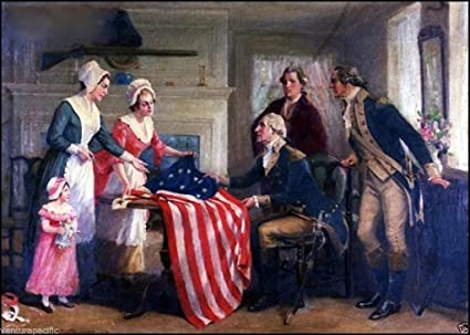image regarding Betsy Ross Printable Pictures titled : Betsy Ross the Initially Superstars and Stripes : John