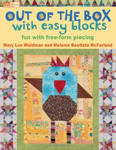Churn Shoes (Out of the Box with Easy Blocks: Fun with Free-Form Piecing)