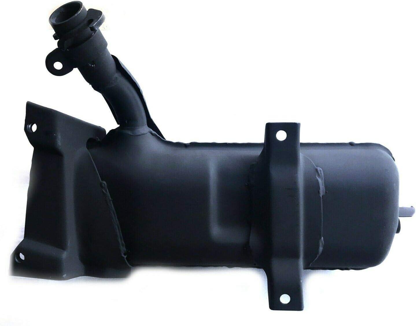 Mutazu New Black Exhaust Muffler for Honda Helix CN250 CN 250 Elite 250