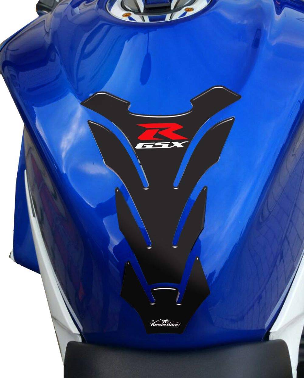 Negro Protector De Dep/ósito Universal Para Moto Suzuki Gsx-r
