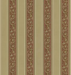 Brewster 430-7029 Vintage Legacy Iii Floral Stripe Wallpaper, 20.5-inch By 396-inch, Red