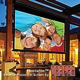 Outdoor Projector Screen Draper 138036 Nocturne/Series E 100 diag. (60x80) - Video [4:3] - Contrast Grey XH800E 0.8 Gain