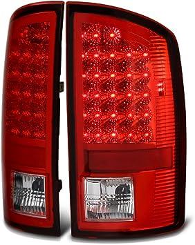 2002-2006 DODGE RAM 1500//2003 2500//3500 TRUCK LED TAIL BRAKE LIGHTS LAMPS SMOKE