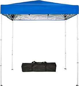 Sunnyglade 6x4 Ft Pop-Up Canopy Tent Outdoor Portable Instant Shelter Folding Canopy with Carry Bag(Royal Blue)