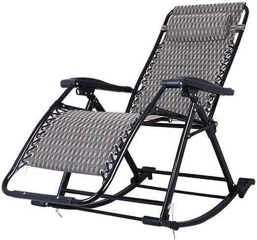 Sedia a dondolo sedia sdraio da campeggio lettino da giardino lettino prendisole lettino lettino da spiaggia
