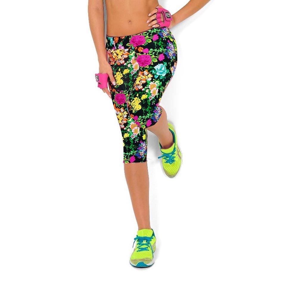 Sannysis - Cintura Alta Sport Yoga Pantalones Pirata para Mujer Deporte