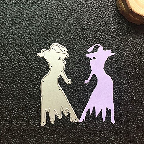 MOKO-PP Happy Halloween Metal Cutting Dies Stencils Scrapbooking Embossing DIY Crafts D(D) -