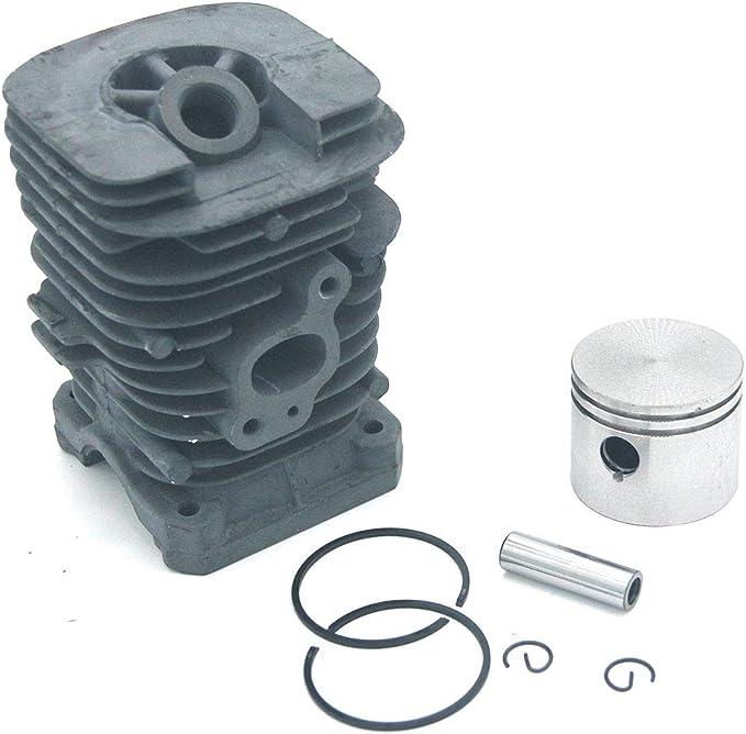 Kit de pistón de cilindro 41.1 mm para motosierra McCulloch 333 444 M3414 M3414N M3416 M3816 M4218 Mac 2214AV 2316AV 2416AVT 2618CAV Mac Cat 338 435 436 438 440 441 442 PN 5300715-79 5300125-52