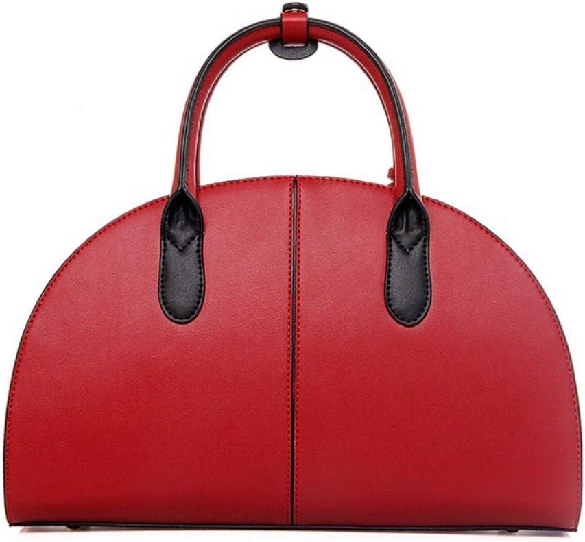 Khaki Polyurethane FHGJ Womens Bags PU Tote Zipper//Tassel Red//Beige