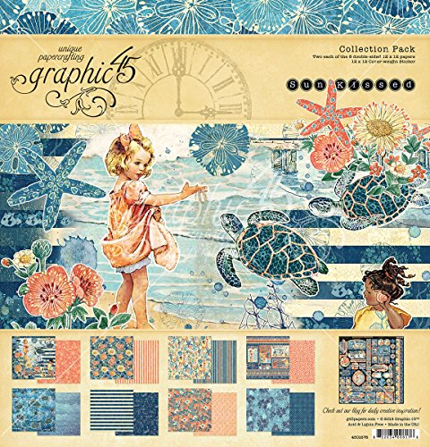Graphic 45 Sun Kissed 12x12 Collection Pack by Graphic 45