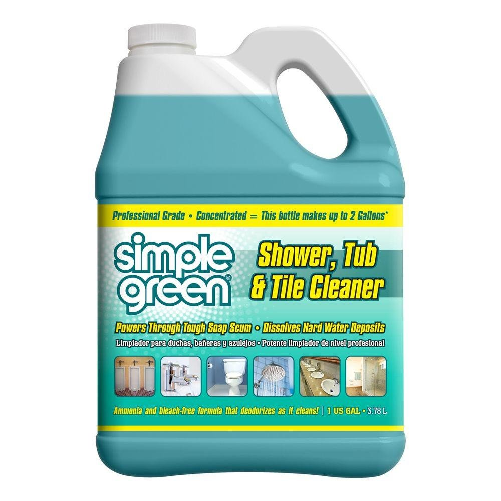 Simple Green 1 Gal. Pro Grade Shower, Tub and Tile Cleaner