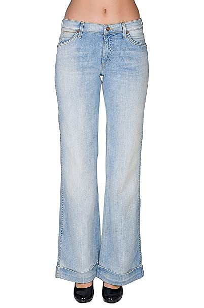 Wrangler Bethany Schlaghose los pantalones vaqueros azules ...