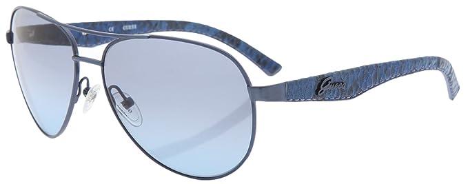 Guess Gafas de Sol Mujer GU 7109 NV-48 Azul Cerrado: Amazon ...