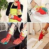 Kitchen Cleaning Latex Glove, Dishwashing Glove, Household Rubber Gloves