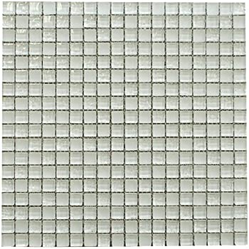 Fancy and Shiny Square Glass Mosaic Tiles for Bathroom and Kitchen Walls Kitchen Backsplashes By Vogue Tile