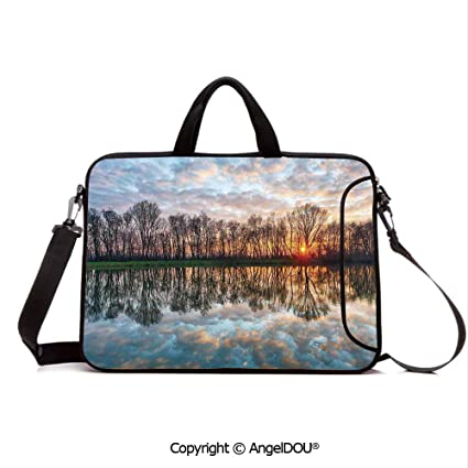 713140d6c6b5 Amazon.com: AngelDOU Neoprene Printed Fashion Laptop Bag Magical ...
