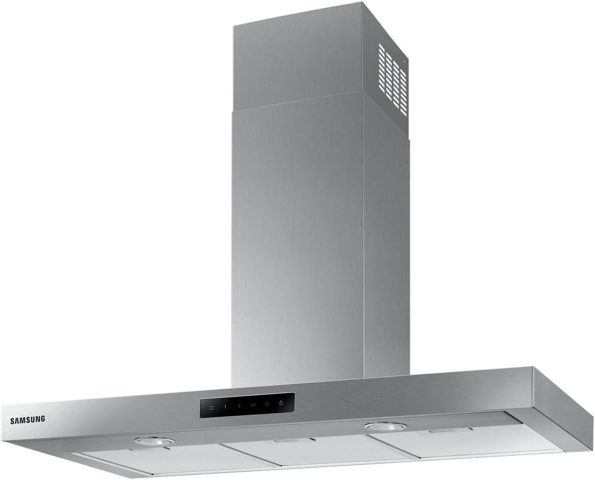 Samsung NK24M5060SS 668 m³/h De pared Acero inoxidable B - Campana (668 m³/h, Canalizado/Recirculación, B, A, C, 70 dB) [Clase de eficiencia energética B]: Amazon.es: Grandes electrodomésticos