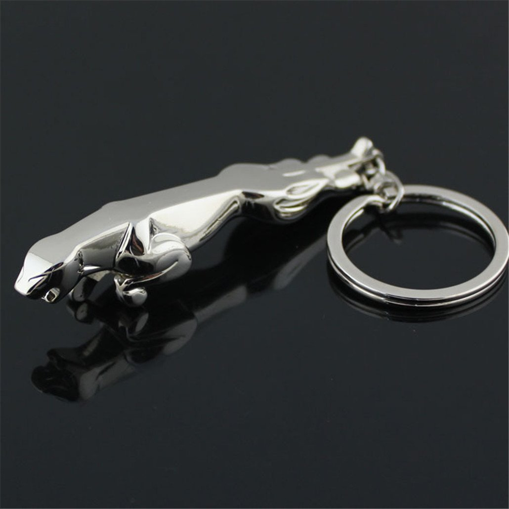 3D Car Key Chain Jaguar Car Logo Key Chains Gift Crafts Dreamtao
