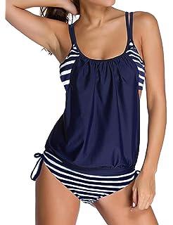 adidas Infinitex 3 Streifen Bikini Zweiteiler blau pink (G83760)