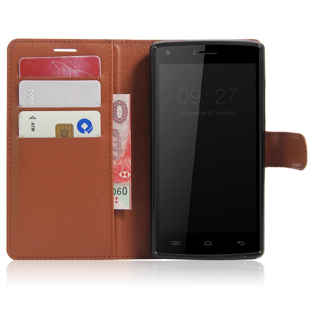 Amazon.com: Doogee X5 Max Case,Manyip PU Leather Stand ...