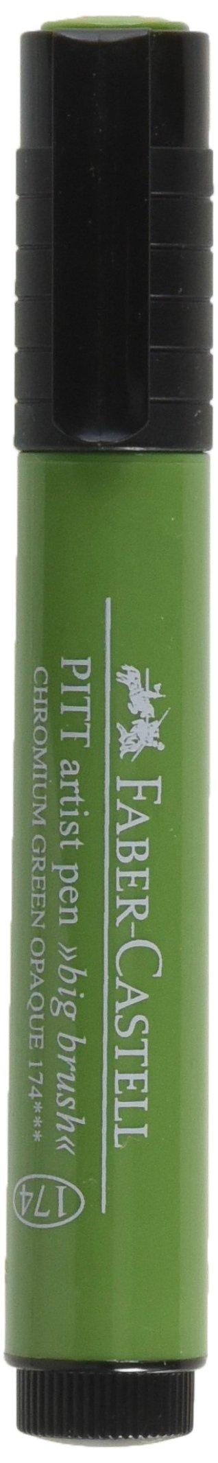 Faber-Castell Design Memory Craft FBR770006 Faber Castell Stampers Big Brush Pen Chrome Green